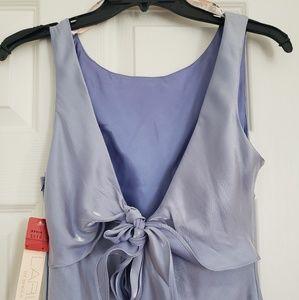 NBW Size 7/8 DeLaru Designer Gown Periwinkle